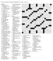 The New York Times Crossword in Gothic: 05.27.12 — State