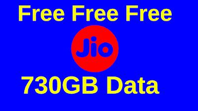 Jio Free Data Tricks 2020 free 730GB with Proof
