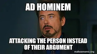 Logical Fallacy Of Ad Hominem