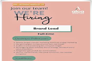 Lowongan Kerja Brand Lead Alca Bandung