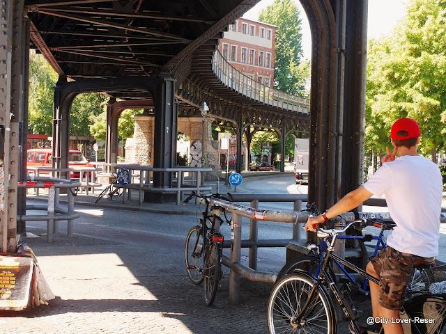 cykla i Berlin