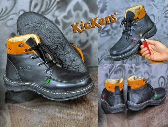 kickers boots original - SEPATU MURAH