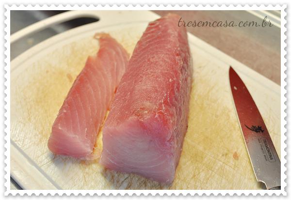 receita sashimi atum