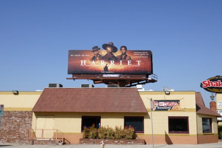 Harriet movie billboard