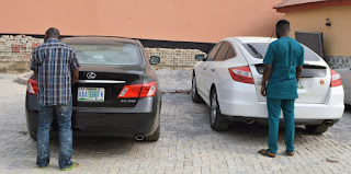 Yahoo Yahoo Brothers Nabbed With Exotic Cars Alongside 13 Others (Photos)
