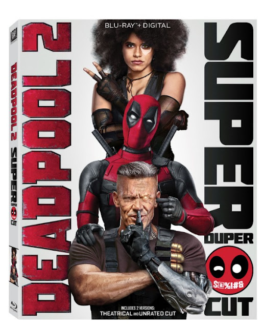 DEADPOOL 2 SUPER DUPER CUT ANNOUNCED FOR SDCC AND HOME RELEASE!!!