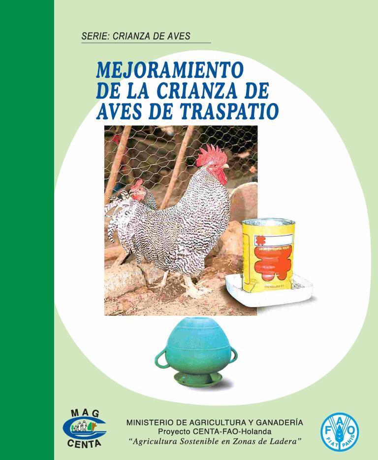 Mejoramiento de la crianza de aves de traspatio