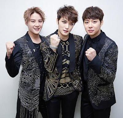 Foto de DBSK de 3 integrantes (Xiah, Hero y Micky)