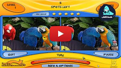 تحميل لعبة الاختلافات الخمسة 5 Spots يوتيوب