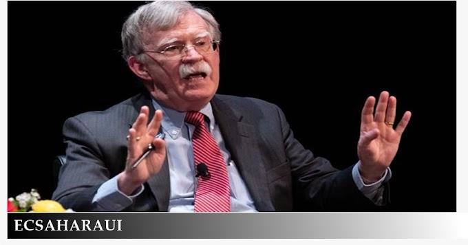 "John Bolton sobre el Sáhara Occidental: ""Creo que no deberíamos tener a esa pobre gente esperando un referéndum durante décadas""."