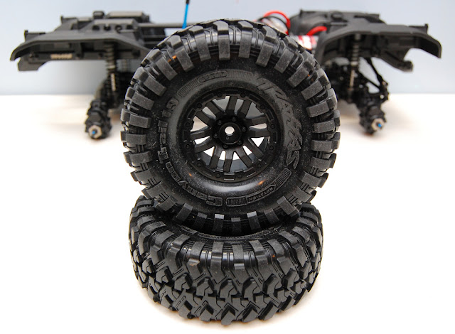 Traxxas TRX-4 wheels and tires