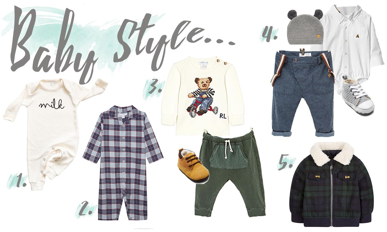 Wednesday Wish-list: Baby Fashion