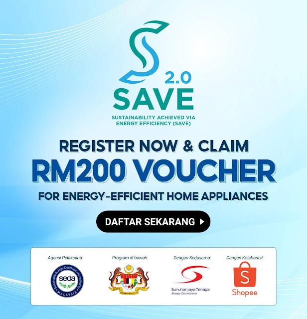 Dapatkan E-Rebat RM200 Bagi Pembelian Peti Sejuk & Aircond Di Shopee