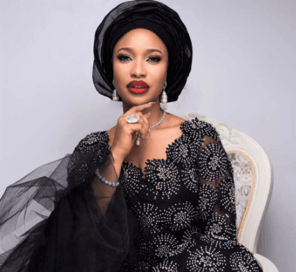 Nollywood Actress Tonto Dikeh Puts Her Curve On This Display In New Sexy Outfit