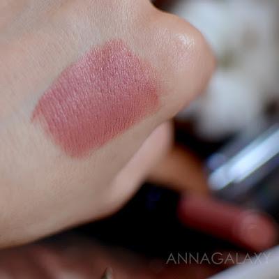 Свотчи Губная помада Lamel Insta Girl lipstick 101 Pink Latte