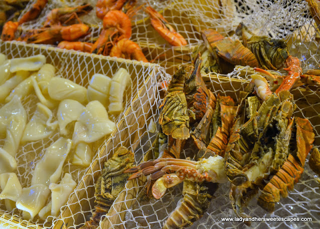 lobster in Movenpick Ibn Battuta brunch