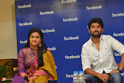 Nani and Keerhi Suresh at Facebook Office-thumbnail-19