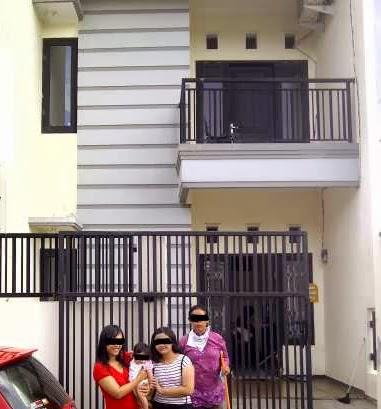 Kontrakan Rumah Area Galaxy 2 Lantai Desain Minimalis Di Tengah Kota Surabaya