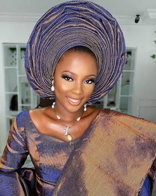 Stunning Makeup and Gele Styles