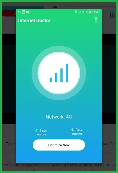 Aplikasi #3 Penguat Sinyal WiFi Android Dengan WiFi Doctor