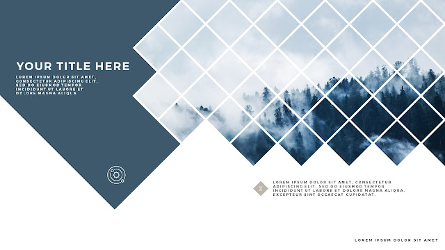 Diamonds Urban Style Title Free PowerPoint Template Slide 5