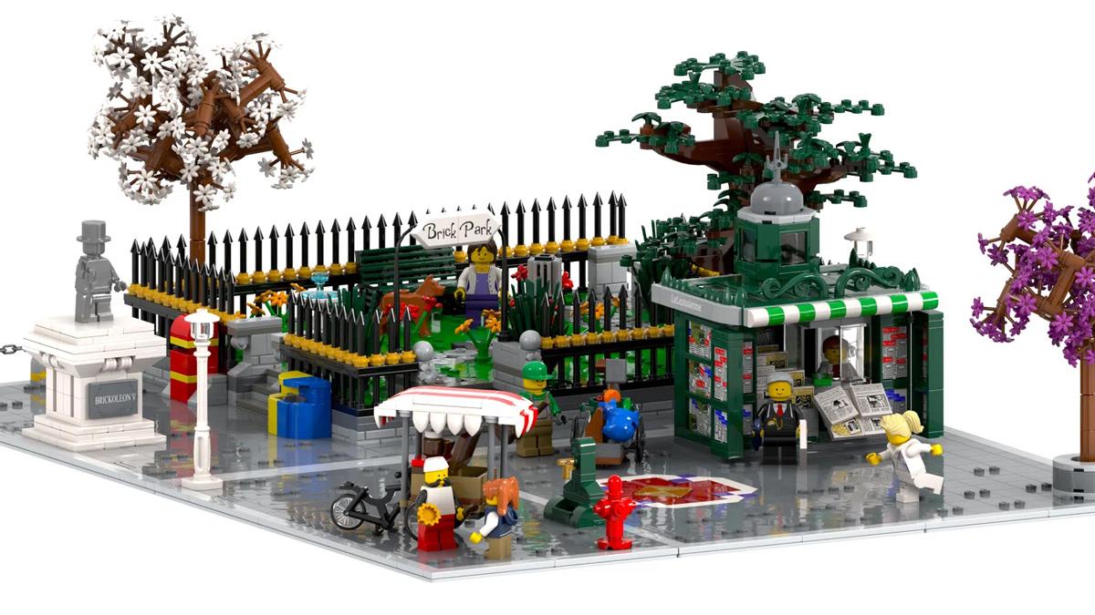 レゴアイデアで『モジュラービルディング拡張パック』が製品化レビュー進出!2021年第1回1万サポート獲得デザイン紹介