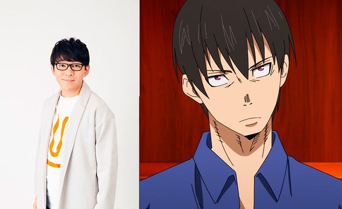 Fire Force (Ennen no Shouboutai) anime - Takagi Oze (Yuki Ono)