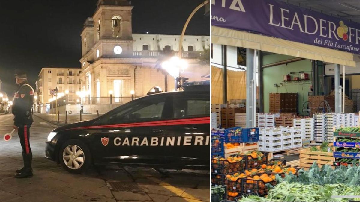 Giarre Carabinieri mercato ortofrutticolo arresto