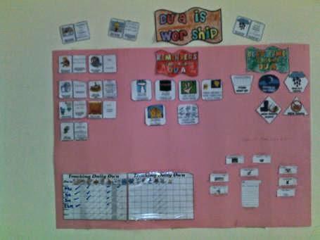 Duaa Bulletin Board