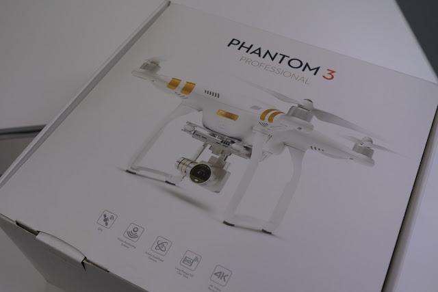 【BLOG】DJI PHANTOM3 Pro 開封の儀-2