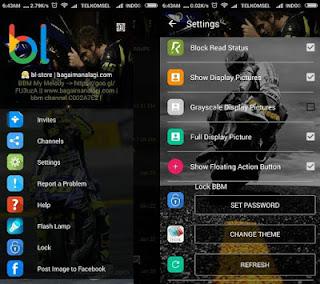 BBM MOD Whatsapp Valentino Rossi 46 v2.12.0.9 Apk