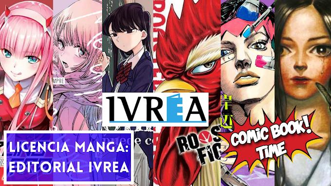 Licencia Manga: Editorial Ivrea anuncia los siguientes títulos: Darling in the Franxx, Me dijiste para siempre, Rooster fighter, Komi San no puede comunicarse, ¡Así habló Rohan Kishibe! y Mushihime