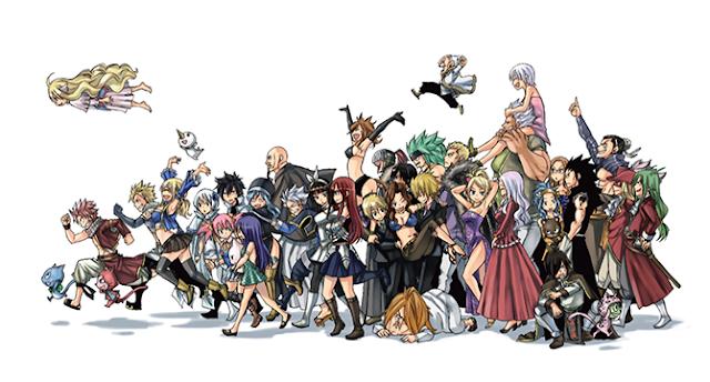 Foto Anime Fairy Tail dan Videonya
