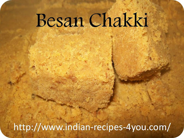 Besan ki Chakki recipe in Hindi by Aju