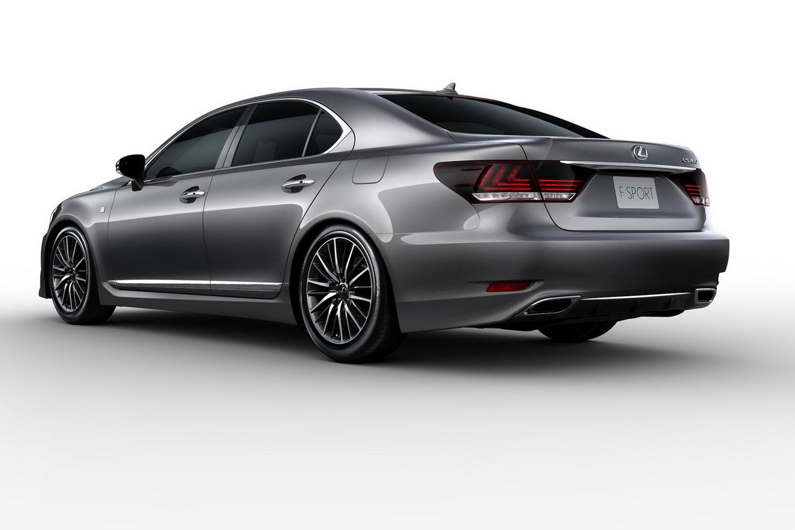 nancys car designs 2013 lexus ls 460 f sport. Black Bedroom Furniture Sets. Home Design Ideas