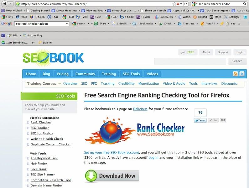 http://tools.seobook.com/firefox/rank-checker/