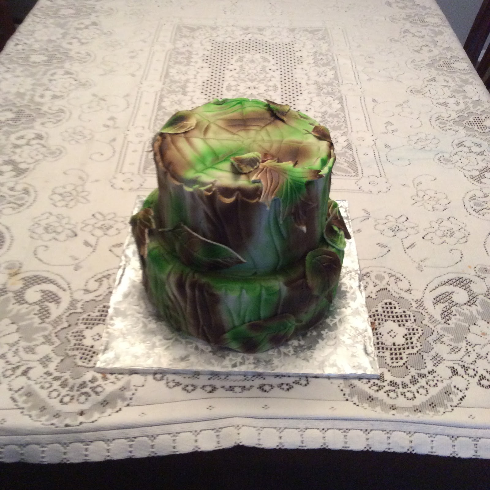 Larry the Cake Guy Redneck Wedding Shower Cake