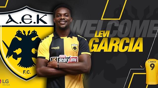 AEK: «Κιτρινόμαυρος» και επίσημα ο Λιβάι Γκαρσία - ΦΩΤΟ
