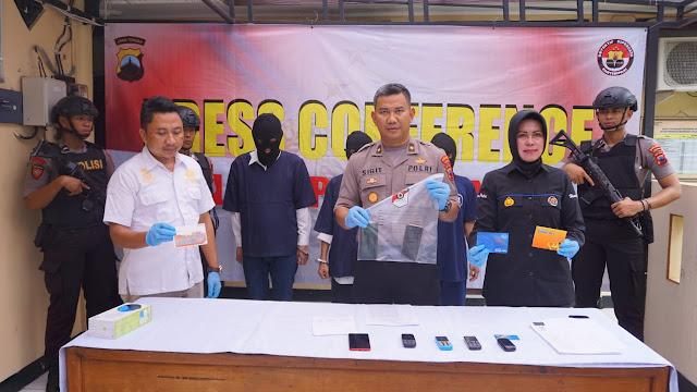 Satreskrim Polres Purbalingga Tangkap Penipu Asal Way Kanan Lampung