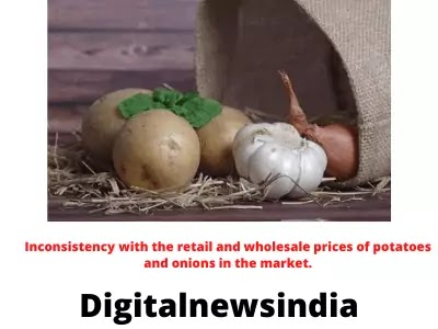 Market inconsistencies with the prices of food potatoes and onions?