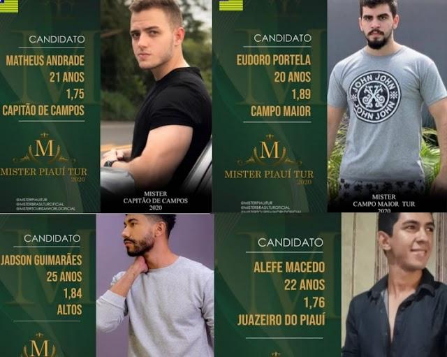 Jovens da região dos carnaubais concorrem ao Mister Piauí Tur 2020