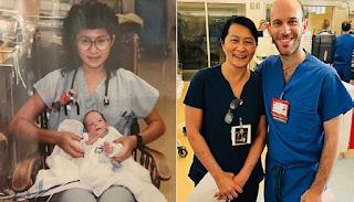 Νοσοκόμα ανακάλυψε πως ο νέος της συνάδελφος ήταν το πρόωρο μωρό που φρόντισε πριν 28 χρόνια
