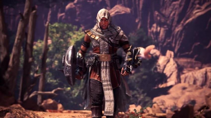 Capcom annuncia una collaborazione fra Monster Hunter: World e Assassin's Creed