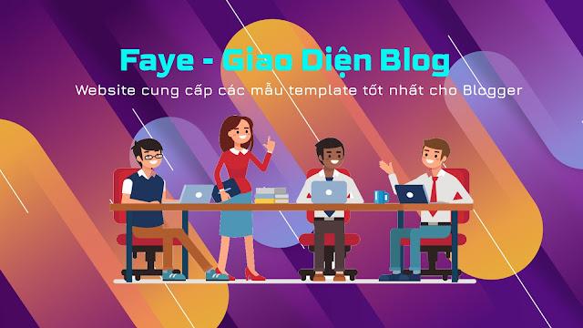 Faye Template - Giao diện blog
