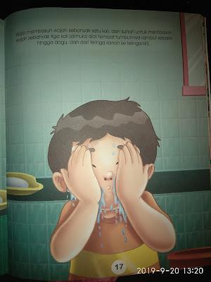 Membasuh muka
