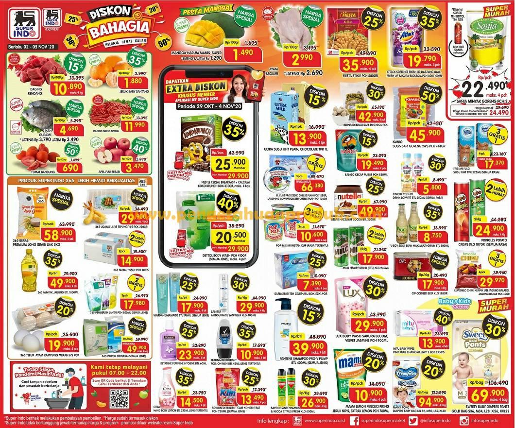 Katalog Superindo Promo Weekday Terbaru 2 5 November 2020