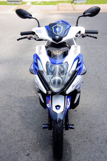 Nouvo SX phối màu trắng xanh GP cực đẹp