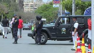 شم النسيم 29/ 4/ 2019 إنتشار مكثف لعناصر الشرطة .