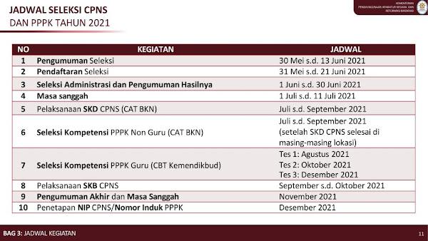 Pendaftaran CPNS dan PPPK 2021