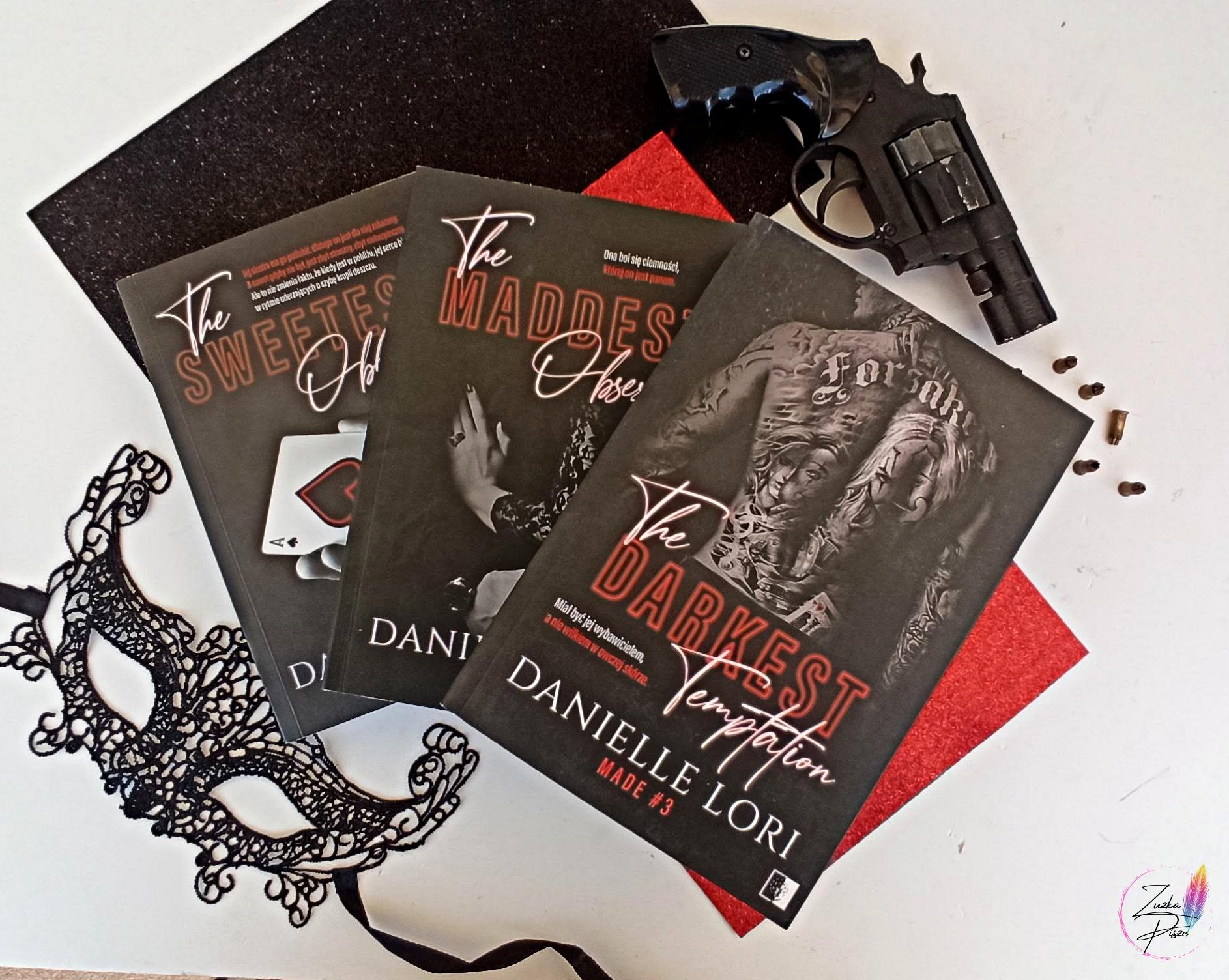 "Danielle Lori ""The Darkest Temptation"" - patronacka recenzja książki"